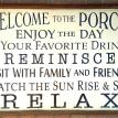 Welcome to the Porch Rules